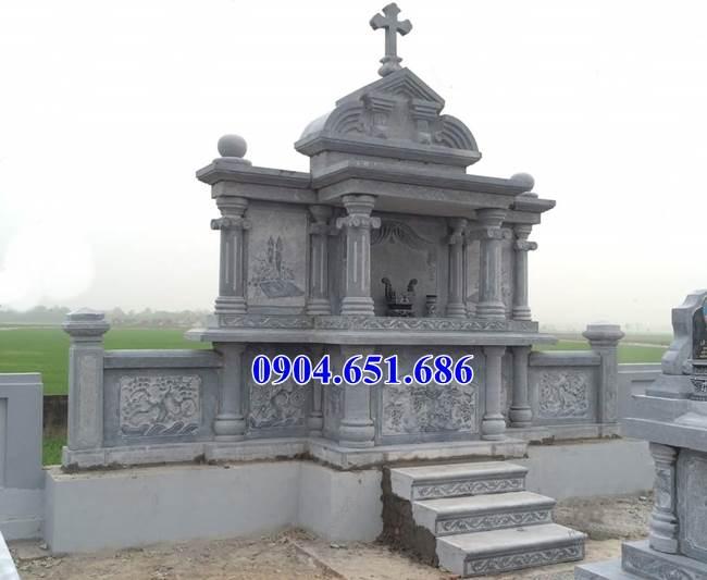 Mẫu nhà thờ chung lăng mộ công giáo đẹp