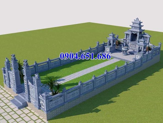 Mẫu thiết kế khu nhà thờ chung lăng mộ đẹp