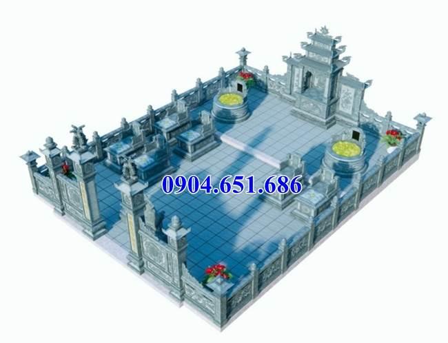 Mẫu thiết kế nhà thờ chung nghĩa trang gia đình hợp phong thủy