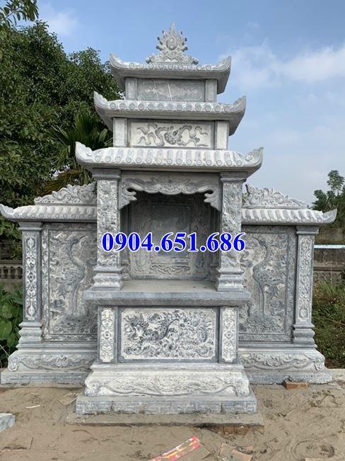 Giá kỳ đài thờ chung bằng đá khối tự nhiên bán tại Quảng Bình