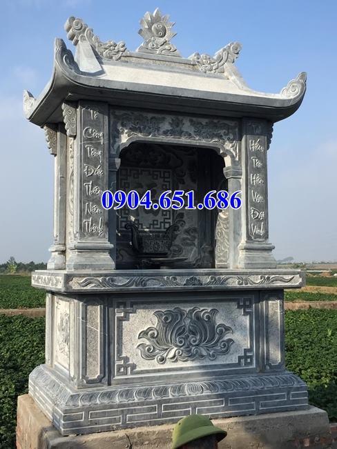 Mẫu kỳ đài thờ chung đá đẹp bán tại Quảng Bình 13– Củng thờ lăng mộ