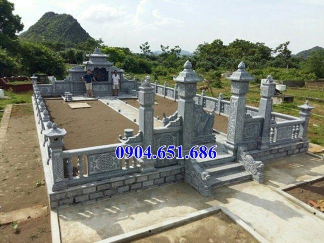 Mẫu khu lăng mộ đá đẹp bán tại Quảng Bình 07 – Nghĩa trang gia đình