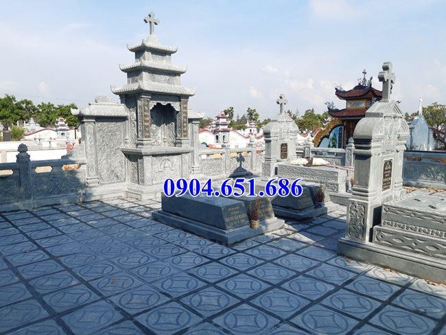 Mẫu lăng mộ đá công giáo bán tại Quảng Bình 06 – Lăng mộ đạo thiên chúa
