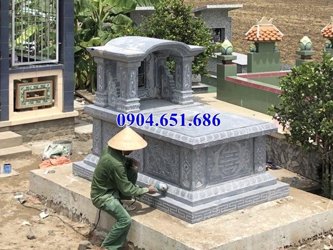 Mẫu mộ đá đẹp để hũ tro cốt bán tại Quảng Bình 05 – Mộ đá để tro cốt