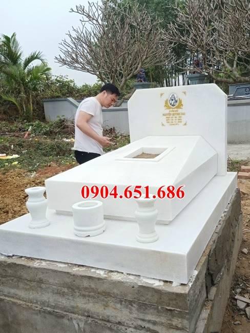 11 Mẫu mộ đá công giáo đẹp bán ở Nam Định – Nhận làm lăng mộ đạo ở Nam Định