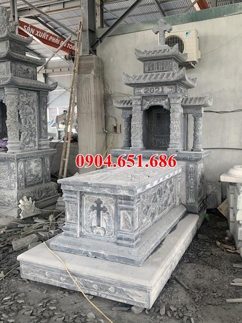 Báo giá bán, lắp đặt mộ công giáo, lăng mộ công giáo bằng đá ở Vĩnh Phúc