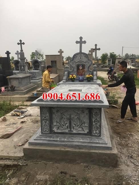 Địa chỉ bán, thiết kế, lắp đặt mộ đá công giáo tại Nam Định uy tín chất lượng