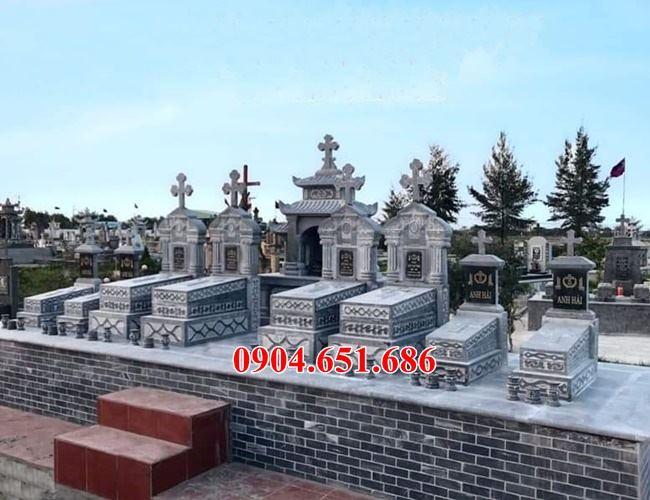 Mẫu mộ đôi đạo thiên chúa đẹp nhất tại Hưng Yên