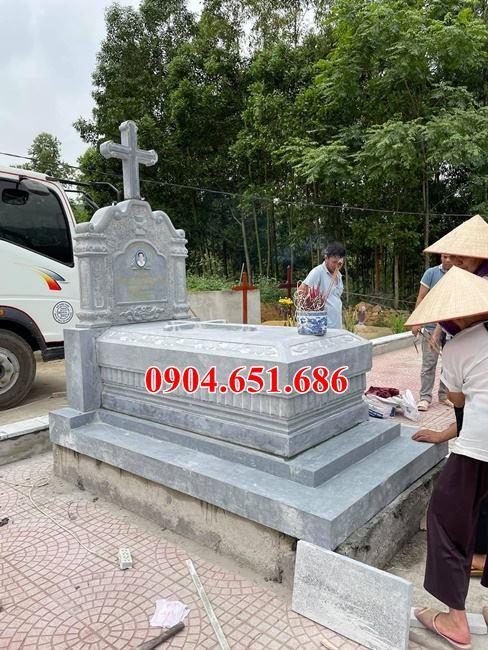 Kích thước xây mộ đá công giáo ở Hưng Yên